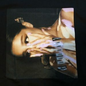 Hot Topic Tops - Ariana Grande Tee